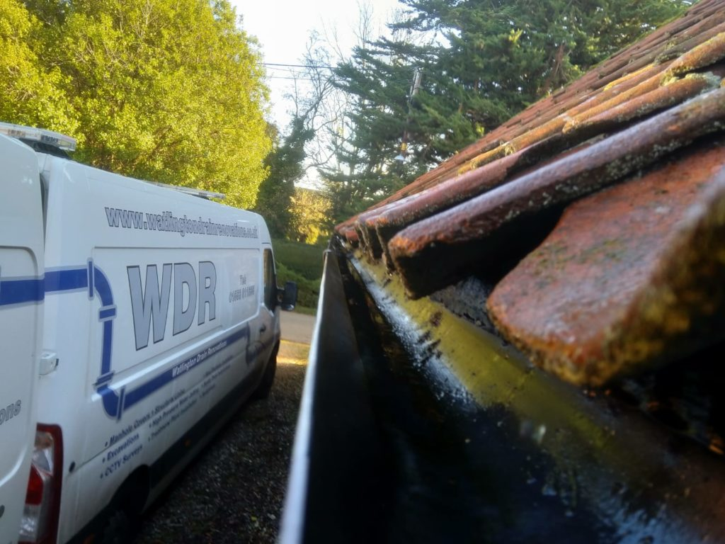 Blocked gutters can cause serious damage to your home.