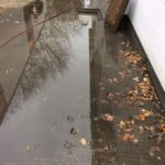 Drain Blockage & Flooding - Before