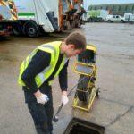 CCTV Drain Surveying in progress