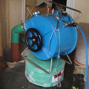 Drain Repair Inversion Process