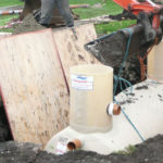 Install and Secure Septic Tank