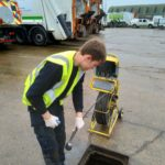 CCTV Drain Surveying in progress
