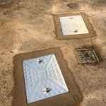 Two New Manhole Covers