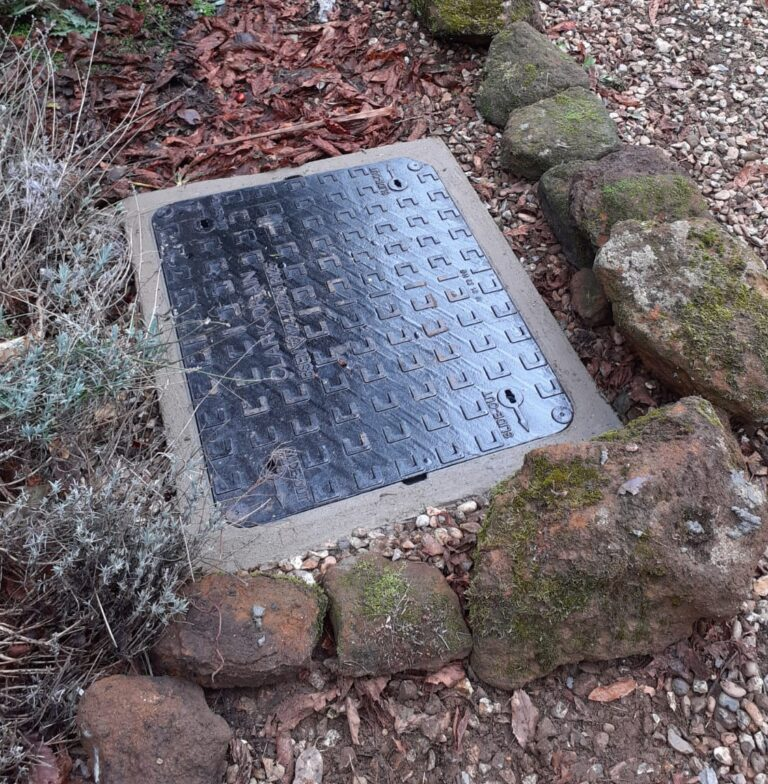 new manhole cover