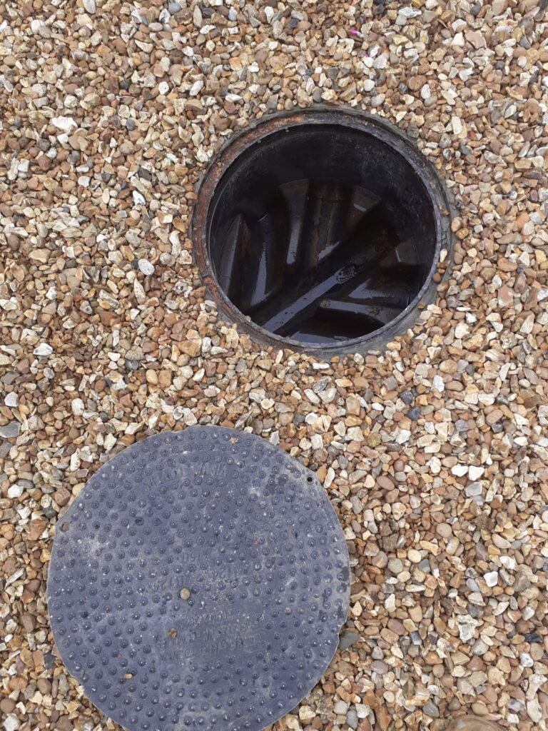 New Manhole Wimbotsham